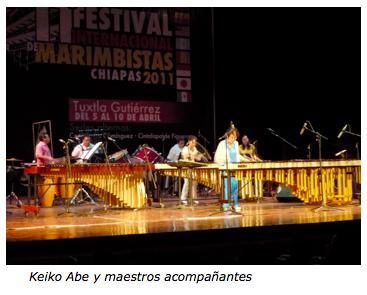 Festival Internacional de Marimbistas-Hotel Palapa Palace presenta los mejores eventos en Tuxtla.