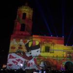 Video Mapping en Morelia, Plaza Valladolid